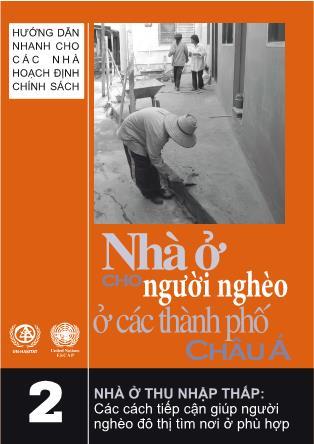 Nhà ở cho người nghèo ở các thành phố Châu Á (Phần 2)