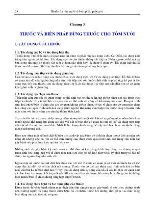 Giáo trình Bệnh của tôm nuôi và biện pháp phòng trị - Bùi Quang Tề