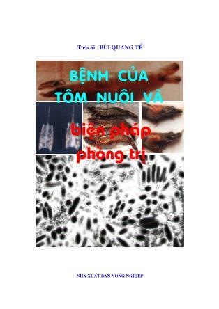 Giáo trình Bệnh của tôm nuôi và biện pháp phòng trị - Chương 1: Những hiểu biết chung về bệnh tôm - Bùi Quang Tề
