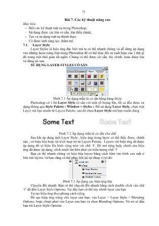 Giáo trình Đồ họa ứng dụng (Phần 2)