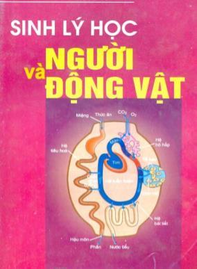 Giáo trình Sinh lý học người và động vật - Nguyễn Đức Hưng