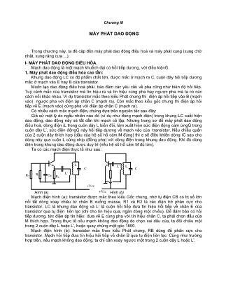Giáo trình Vô tuyến điện tử (Phần 2) - Đại học Sư phạm TP.HCM