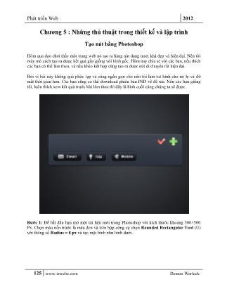 Phát triển Web (Phần 2)