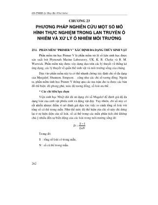 Phương pháp nghiên cứu khoa học (Phần 2) - Lê Huy Bá