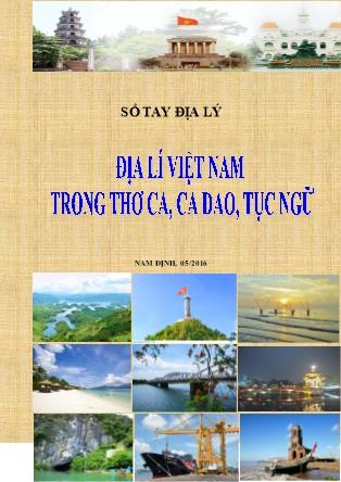 Sổ tay Địa lí Việt Nam trong thơ ca, ca dao, tục ngữ